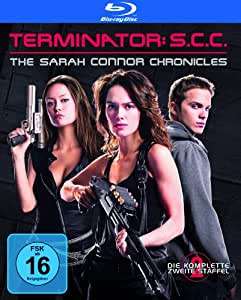 BD * Terminator - The Sarah Connor Chronicles: Die komplette 2. Staffel (Box Set / 5 Discs) [Blu-ray] [Import allemand]