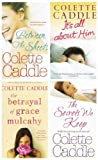 Colette Caddle Colette Caddle books: 4 books (Between the Sheets / The Betrayal of Grace Mulcahy / The Secrets We keep / Its All About Him rrp £27.96)