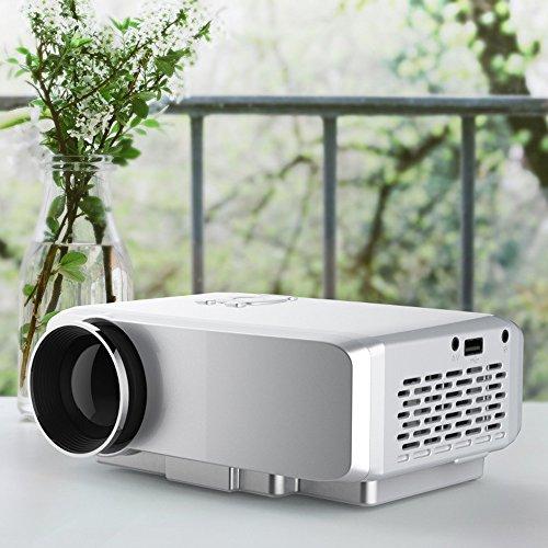 Mini portable full hd video projector 640x480dpi 800lumen for Mini portable projector for ipad