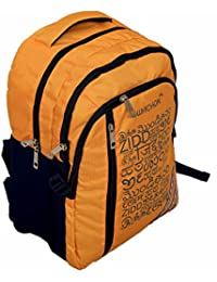 Kuber Industries™ 30 Ltrs College Bag, Casual Daybag Backpack (Yellow) - KI9010