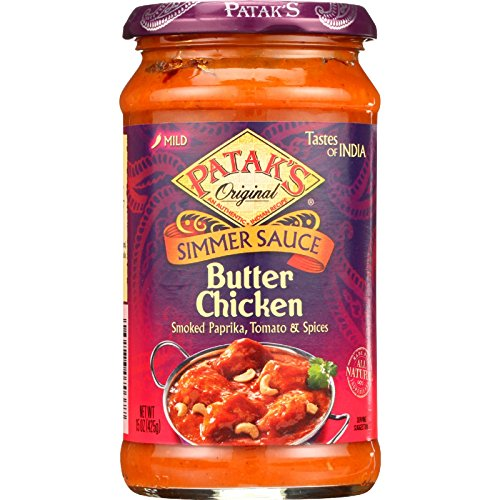 Pataks Simmer Sauce - Butter Chicken Curry - Mild - 15 oz - case of 6 - - - - - - (Butter Chicken Curry compare prices)