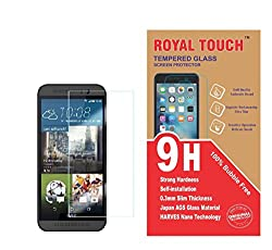 Royal Touch Bubble Free Japanes AGC Tempered Glass HTC One E9+