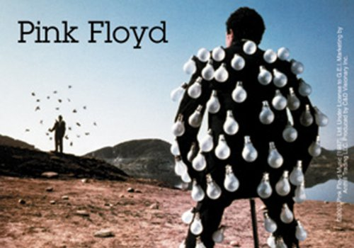 Licenses Products Pink Floyd Bulb Man Sticker