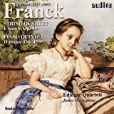 Franck E - String Quartet in F minor Op.49/Piano Quartet in D major Op.45 (Edinger Quartett)by Edinger Quartet