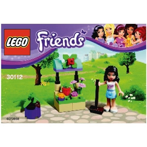 LEGO Friends: Emma's Flower Stand Set 30112 (Bagged) - 1