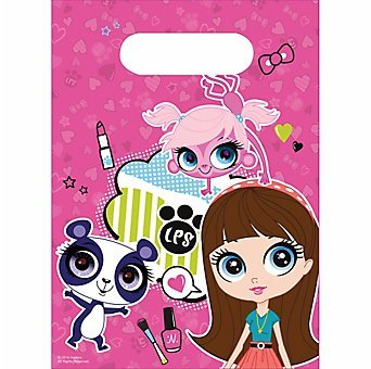 Littlest Pet Shop Favor Bags 6ct - 1