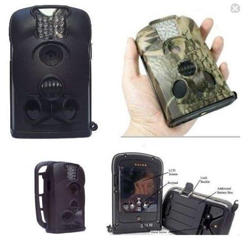 Telecamera a Batteria Lt Acorn 5210 con Autonomia fino a 6 Mesi + DVR su Sd Card fino a 16 Gb Visione Notturna con Led Infrarossi Invisibili