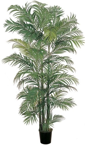 Nearly Natural 5002 Areca Silk Palm Tree 6 Feet