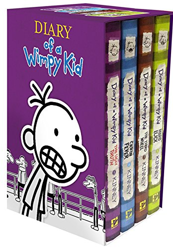 Diary-of-a-Wimpy-Kid-The-Ugly-Truth-Cabin-Fever-The-Third-Wheel-Hard-Luck