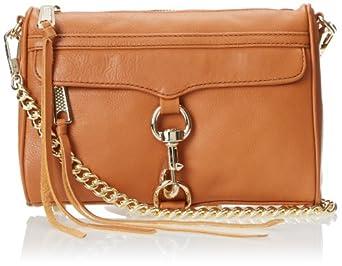 Rebecca Minkoff Mini MAC Convertible Cross Body Bag,Camel,One Size