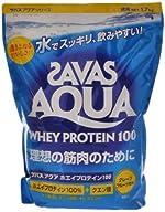 ザバス(SAVAS) アクアホエイプロテイン100 1.7kg グレープフルーツ風味