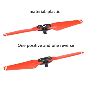 Quick Release Low Noise Colored Props Blades YANSHON 4730F Propellers Blades Foldable Props for DJI Spark Drone 4pcs//Set