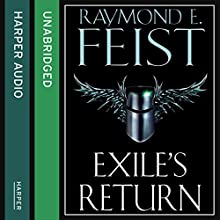 Exile's Return: Conclave of Shadows, Book 3 (       UNABRIDGED) by Raymond E. Feist Narrated by Peter Joyce