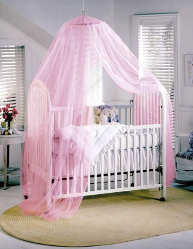 Great Features Of BESTOPE® White Toddler Baby Nursery Halo BED NET Mosquito Net Crib TENT Canopy Ne...