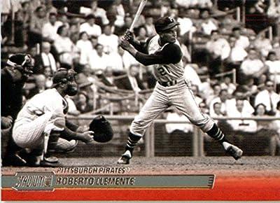 2014 Topps Stadium Club Baseball Card # 127 Roberto Clemente Pittsburgh Pirates