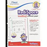 Mead RediSpace Transitional NoteBook Paper, Stage 4, 10.5 x 8 Inches, 50 Count (48018) ~ Mead