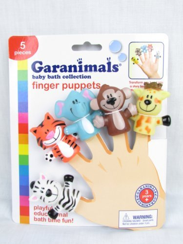 Garanimals baby bath Finger Puppets (047968008297)