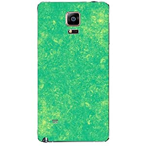 Skin4gadgets Royal English Pastel Colors in Grunge Effect, Color - Yellow Lime Phone Skin for SAMSUNG GALAXY NOTE 4 (N910)