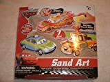 Disney Pixar the World of Cars Sand Art Kit