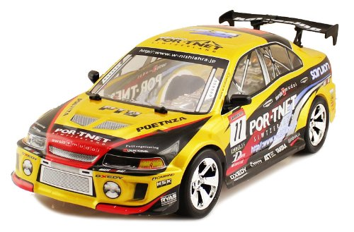 Electric 1:10 Scale Mitsubishi Evolution 5 GSR Full Function RTR RC Car Remote Control Good Quality
