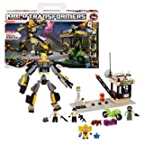 Hasbro Year 2012 KRE-O Create It Transformers 2-in-1 Series 8 Inch Tall Robot Figure Set #98814 - STEALTH BUMBLEBEE...