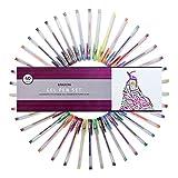 Eparon 40-piece Gel Pen Set with 40 Unique Colors