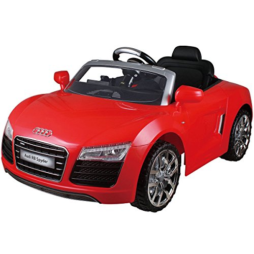 Costzon-Audi-R8-Spyder-12V-Electric-Kids-Ride-On-Car-Licensed-MP3-RC-Remote-Control-Red