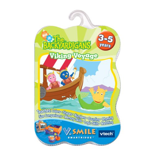Backyardigans V.Smile Smartridge - Buy Backyardigans V.Smile Smartridge - Purchase Backyardigans V.Smile Smartridge (VTech, Toys & Games,Categories,Electronics for Kids,Learning & Education,Toys)