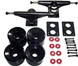 "LONGBOARD Package CORE 7"" BLACK TRUCKS 76mm Blk WHEELS"