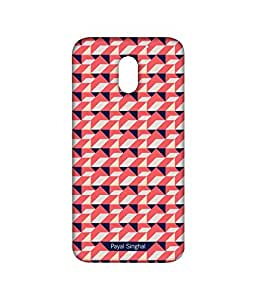 Payal Singhal Coral Navy - Sublime Case for Moto E3