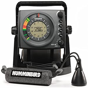 Humminbird ICE-45 Three Color Flasher with LCD by Humminbird