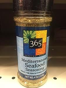 365 everyday value mediterranean seafood for Best fish seasoning