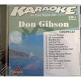 Chartbuster Karaoke: Don Gibsonby Karaoke