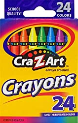 Cra Z Art Crayons, Multi Color (24 Counts)