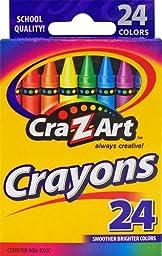 Cra-Z-art Crayons, 24 Count (10201)
