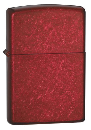Zippo 21063 Candy Apple Pocket Lighter (Red)