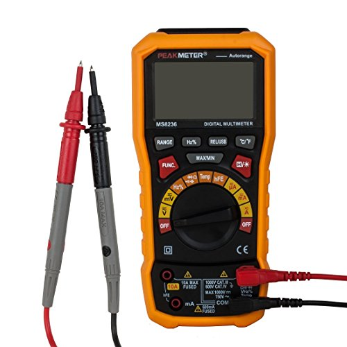 uxcell-TRMS-Digital-Multimeter-Auto-Ranging-Voltage-Current-Resistance-Capacitance-Frequency-Temperature-wUSB-interface