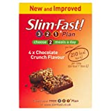 Slim Fast Meal Bar Chocolate Crunch 60g - Pack of 4