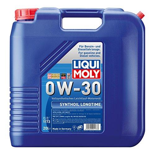 Liqui Moly Synthöl Longtime Motoröl 0 W-30 20L 1173