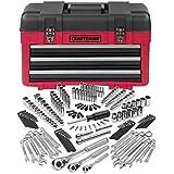Craftsman 182 pc. Mechanics Tool Set with 3-Drawer Chest, #33182