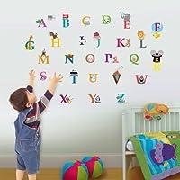 Walplus Kids Cute Alphabet London Home Nursery Children Girls Room Wall Stickers Paper from Walplus