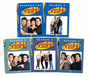 Seinfeld Seasons 1-6 Pack
