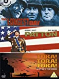 The Longest Day/Patton/Tora! Tora! Tora! [DVD] [1962]
