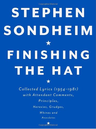 Stephen Sondheim: Finishing the Hat