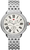 Michele Ascalon Diamond Chronograph Stainless Steel Womens Watch MWW21A000001
