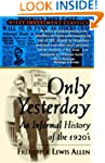 Only Yesterday: Informal Treatment of...