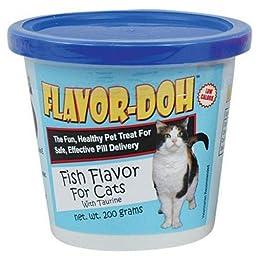 Flavor-Doh for Cats - Fish flavor - 7 oz
