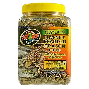 Zoo Med Juvenile Bearded Dragon Food - 283g by Zoomed