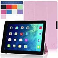 i-Blason Apple iPad Air Case  (5th Generation) i-Folio Smart Cover Slim Hard Shell Stand Case Cover [Life Time Warranty] - Pink from i-Blason