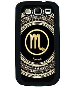 Fuson 2D Printed Sunsign Scorpio Designer back case cover for Samsung Galaxy S3 I9300 - D4282